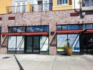 Decals vinyl window mural 300x225
