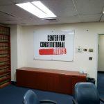 custom lobby sign panel
