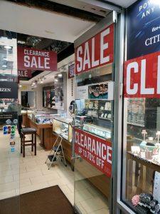 promotional sale vinyl window clings