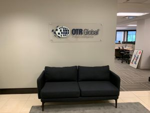 attractive custom lobby signs