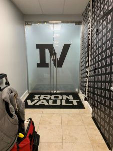 fosted vinyl door graphics and wall graphics